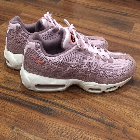 size 40 f52a7 05ad7 Nike Shoes | Womens Air Max 95 Premium Safari Purple Smoke | Poshmark